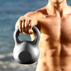 The best kettlebell workout for men. #fitness