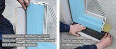 Detailarbeiten ÖNORM B5320 Fenstereinbau