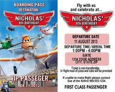 disney planes invitations - Google Search Disney Planes, Us Destinations, 8th Birthday, It Cast, Invitations, Google Search, Save The Date Invitations, Invitation