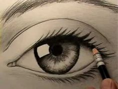 to draw a realistic eye