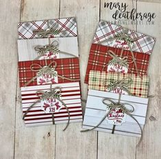 Stampin Up! Christmas Traditions Pop-Up Gift Card Holder | Stamps n Lin