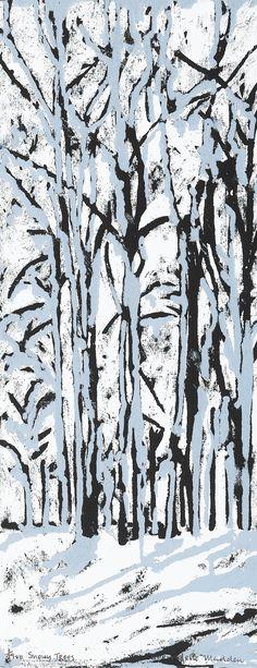 Soul Boat, Irish Landscape, Snowy Trees, Winter Scenes, Contemporary Jewellery, Sculpture Art, Screen Printing, Around The Worlds, Artist
