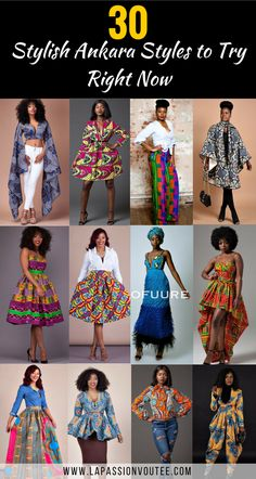 30 Awesome Ankara Styles You Need to Try Right Now Ankara styles are the most beautiful pieces of clothing. Discover 30 of the hottest African fashion you need to rock this season. Don't get left behind! African Fashion Designers, African Dresses For Women, African Print Dresses, African Print Fashion, Africa Fashion, African Attire, African Wear, African Fashion Dresses, African Women