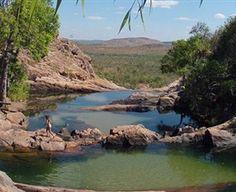 Gunlom Plunge Pool Jabiru Australia Natural Swimming Pool