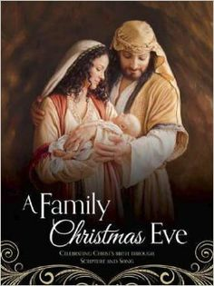 A Family Christmas Eve: Celebrating Christs Birth through Scripture and Song. Illustrated Christmas songbook with beautiful images by artists Howard Lyon, James Christensen, Joseph Brickey, Walter Rane, Liz Lemon Swindle, Mark Missman, Jon McNaughton, Brian Kershisnik, and Linda Curley Chrustensen.