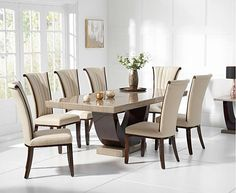 Wooden Dining Table Designs, Dinning Table Design, Dining Room Table Decor, Wooden Dining Tables, Modern Dining Table, Dining Chairs, 8 Seater Dining Table, Table Seating, Round Dining Room Sets