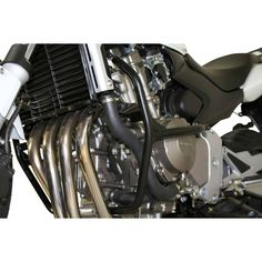 Honda F& Hornet SW~Motech Motorbike Engine Guard Crash Bar Honda Cb750, Triumph Motorcycles, Vintage Motorcycles, Custom Motorcycles, Custom Bikes, Cb 600, Royal Enfield Modified, Cafe Racer Honda, Cafe Racers