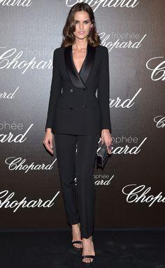 IZABEL GOULART at the Chopard Trophy Dinner - 2017 Cannes Film Festival