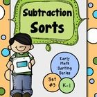 These sorting sheets are a great way to provide extra practice with differences {no answers higher than 9}. They work well in small instructional g...