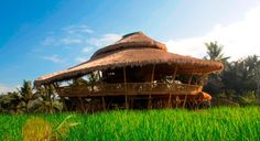 Bamboo Architecture: Green School, Bali
