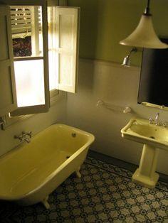bathrooms - Diseño ©2011 por Francisco del Pozo Parés -            miniature architecture, baño en miniatura, arquitectura en miniatura, miniature bathrooms