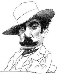 Giacomo Puccini by David Levine