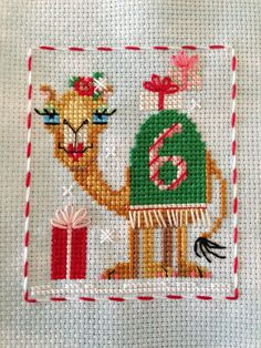 Brooke's Books; Animal Advent #6 Cashmere Camel