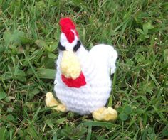 Bizzy Crochet: Barnyard Gang Pattern- Picture Heavy