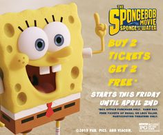 SpongeBob-Movie-Tickets-and-Showtimes-Free-Ticket-Offer