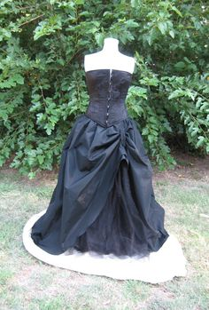 Dance all Night Skirt Victorian Gothic Steampunk skirt. $169.99, via Etsy.