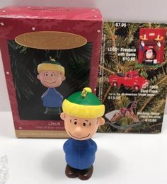 Hallmark Keepsake Ornament Linus Peanuts A Charlie Brown Christmas QRP4217  | eBay