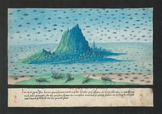 The Book of Miracles - These depictions of celestial phenomena and portentous signs were recently discovered as part of a collection of 169 illustrations created in Augsburg, Germany around 1552.