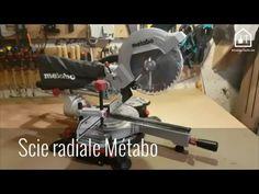 Scie à onglet radiale KGS216M de Métabo - YouTube