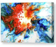 Colorful abstract painting tca by Tiktus Color Art Canvas Prints, Framed Prints, Art Prints, All Wall, Unique Art, Fine Art America, Wall Art, Abstract, Artist