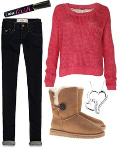 """""""Casual 1"""" by tomlinson-lottie ❤ liked on Polyvore"""