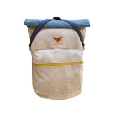 Color: Ocean Blue/Smokey Grey Product Type: Roll-top backpack Weight: 750 g Carries: Max. 8-10 KG  Dimensions: 38 (30 cm) x 60 (43 cm) x 9 cm wid...
