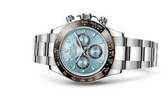 Discover the Cosmograph Daytona watch in Platinum on the Official Rolex Website. Model: 116506