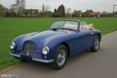 1952 Aston Martin DB2 Vantage Drophead Coupe