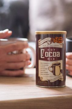 Coffee in the morning. Cocoa in the evening. Our favorite way to start and end winter days.