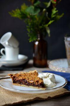 Black Bottom Oatmeal Pie {From Four & Twenty Blackbirds Pie Book}