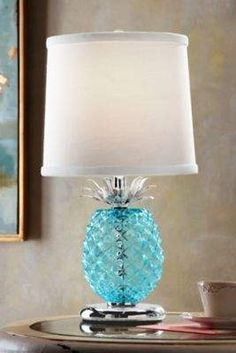Soft Surroundings Pineapple Table Lamp