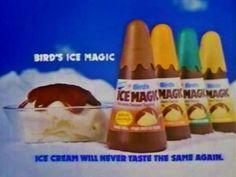 Ice magic. Caramel, mint choc, orange, sneaking a slurp straight from the bottle- omnom.