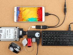 15 Cool things you can do with USB OTG Cable in Android - News Technology Computer Projects, Computer Basics, Diy Tech, Tech Hacks, Cool Technology, Computer Technology, Computer Lab, Diy Electronics, Electronics Projects