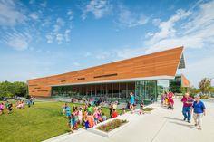 Lawrence Public Library Expansion de Gould Evans | Edificios administrativos