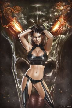 Vanra and the Fire Dragon by Rafa Teruel Fantasy Art Village Social Network for Fantasy, Pinup, and Erotic Art Lovers! Fantasy Girl, 3d Fantasy, Fantasy Women, Anime Fantasy, Dark Fantasy, Art Village, Dark Love, Luis Royo, Fire Dragon