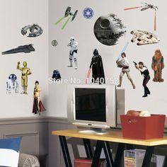 PVC Cartoon Star Wars Schil en Stok Muurstickers voor Kids Jongens Kamer Muurtattoo Woondecoratie Behang Art Posters in 1. klassieke 2. lego 3. nieuwe     Cartoon Despicable Me Minions Wall Stickers van muurstickers op AliExpress.com   Alibaba Groep