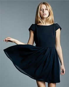 fce0e45d0c401d robe noire  ramon  de ba Summer Wear