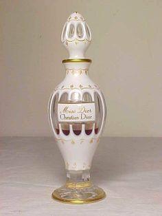 "Rare Vintage 1948 Baccarat ""Miss Dior"" Christian Dior Perfume Bottle"