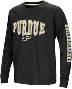 7d3d8a5a62a6 Colosseum Purdue Boilermakers Spike Long Sleeve T-Shirt
