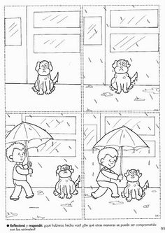 A very good 4 picture sequence story. Immense potential skills can be taught through this one such as; cause and effect Inference Emotions 4 ) sequencing Sequencing Worksheets, Sequencing Cards, Story Sequencing, Worksheets For Kids, Language Activities, Writing Activities, Classroom Activities, Picture Comprehension, Sequencing Pictures