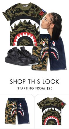 Designer Clothes, Shoes & Bags for Women Bape Outfits, Lit Outfits, Lazy Day Outfits, Teen Girl Outfits, Tumblr Outfits, Casual Outfits, Halloween Fashion, A Bathing Ape, Dope Fashion
