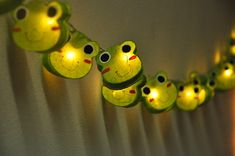 Cutie Frog mulberry paper  Lanterns for wedding party by ginew