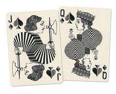Royal_Optik_Playing_Cards_Jack_Queen_of_Spades