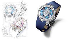 Roger Dubuis Blossom Бархатная Часы