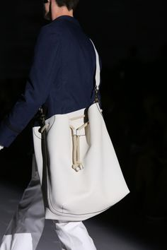Gucci || Men's Spring/Summer 2015 Runway Show, The man bag