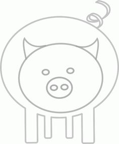 Cartoon Clipart: Free Pig Cartoon Clipart | Piggie Bank ...