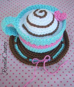 Coffee crochet amigurumi