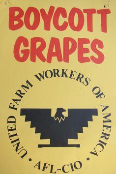 Boycott grapes, UFW