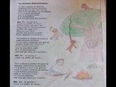 """La canzone dell'evoluzione-Testo e musica: Piero Galli I disegni sono dei bambini delle classi IIIA e IIIB della scuola primaria """"Luigi Casini"""" di Pian di Mugnone (FI) Tredici milioni ..."""