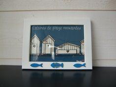 Cadre humoristique sur la Normandie : Décorations murales par lalouchic